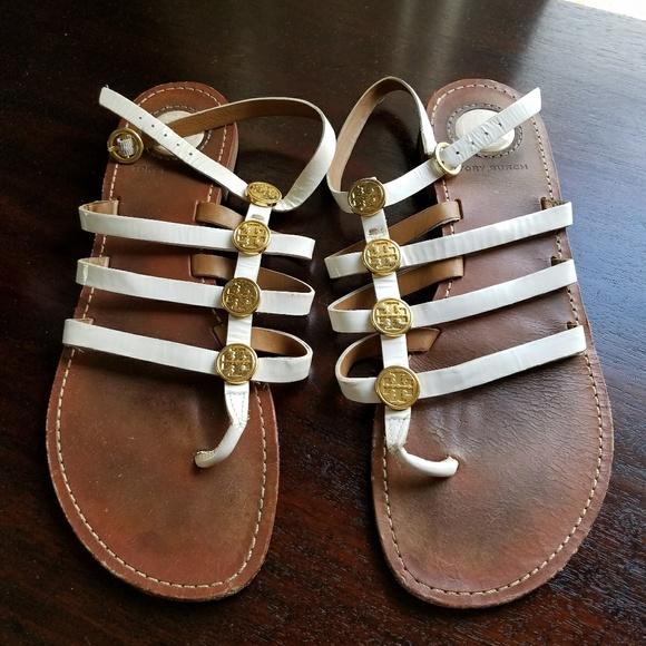 77103db9dd8e Price DROP - Tory Burch Gladiator Sandals - 8.5